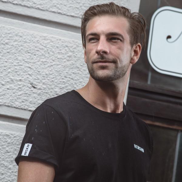 hensho shirt unisex schwarz